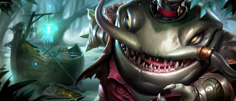 "Kein Troll, sondern Tahm Kench, ein Champion aus ""League of Legends""."