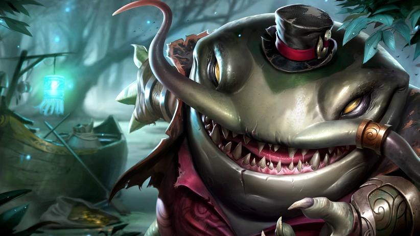 """League of Legends"": Kein Troll, sondern Tahm Kench, ein Champion aus ""League of Legends""."