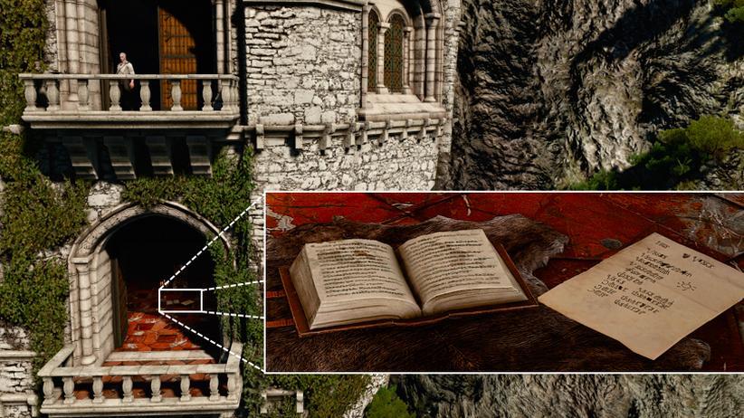 """Ein Gigapixel-Bild aus """"The Witcher 3"""""""