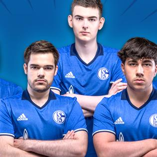 "Das ""League of Legends"" Team von Schalke 04"