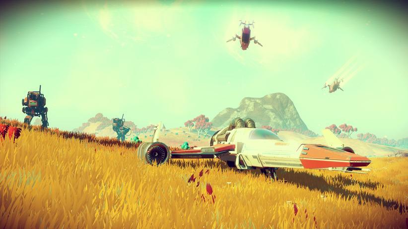 Jeder Spieler beginnt auf einem anderen, einzigartigen Planeten.