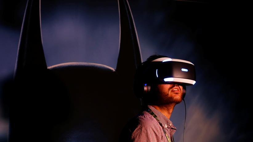 Playstation VR: In Playstation VR können die Spieler in die Rolle von Batman schlüpfen.