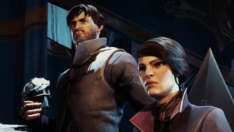 """Corvo und Emily: Die beiden spielbaren Protagonisten in """"Dishonored 2""""."""