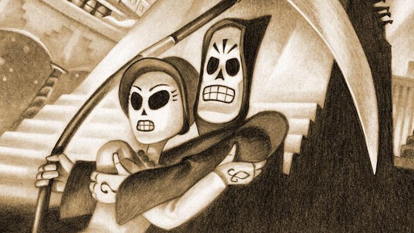 """Games: Das Adventure """"Grim Fandango"""" spielt in der Welt der Toten."""