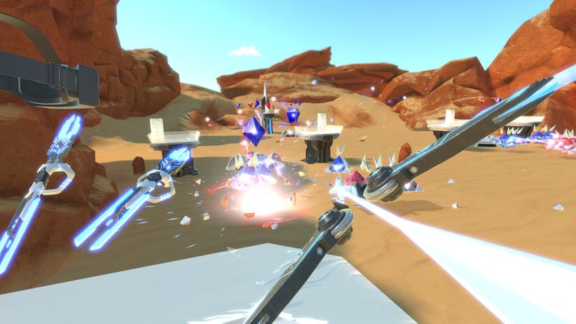 "VR-Spiel ""Holo Arena"""