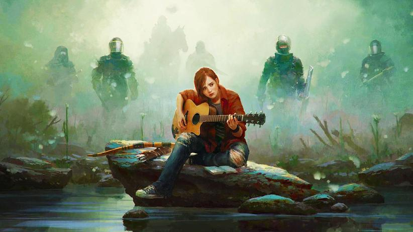 "Krebs: Artwork des Horrorspiels ""The Last of Us"""