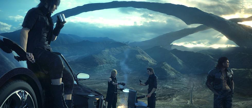"Screenshot aus ""Final Fantasy 15"""