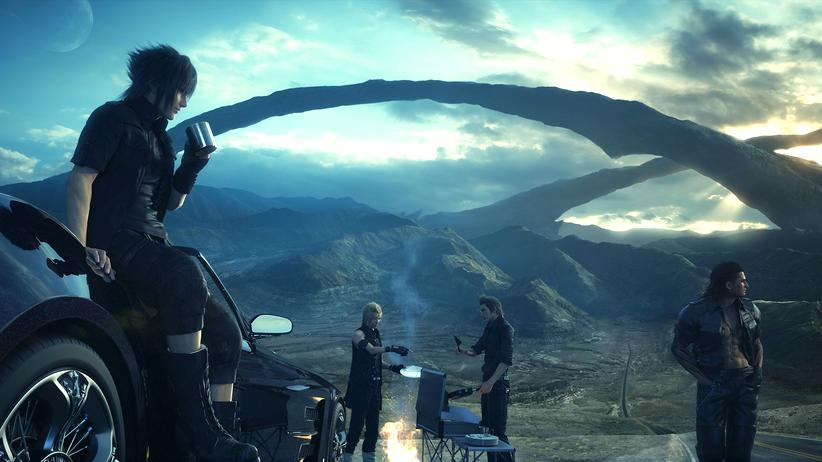 "Screenshot aus ""Final Fantasy 15"""