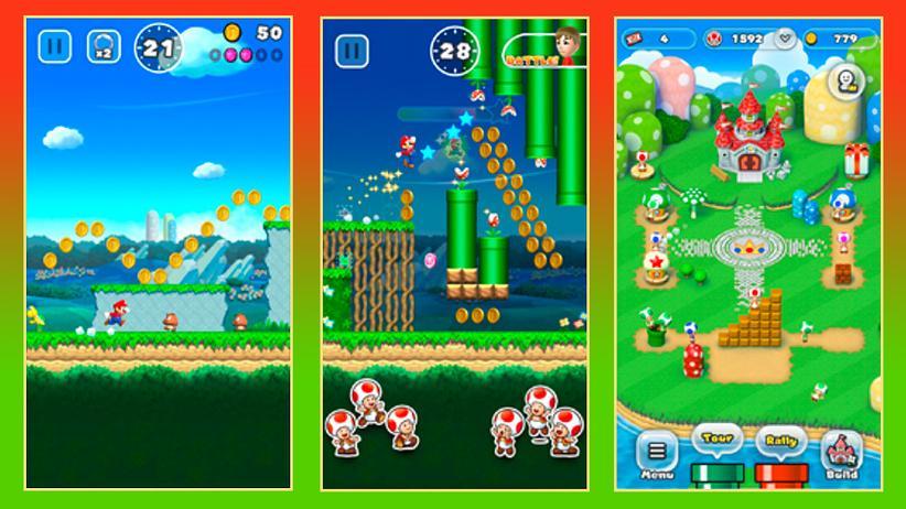 """""""Super Mario Run"""": Der Schnauzbart rockt das iPhone"""