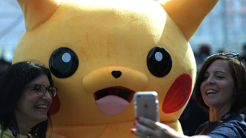 Begeistert auch erwachsene Menschen: Pikachu, das bekannteste Pokémon.
