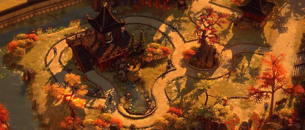 "Screenshot aus ""Shadow Tactics: Blades of the Shogun"""