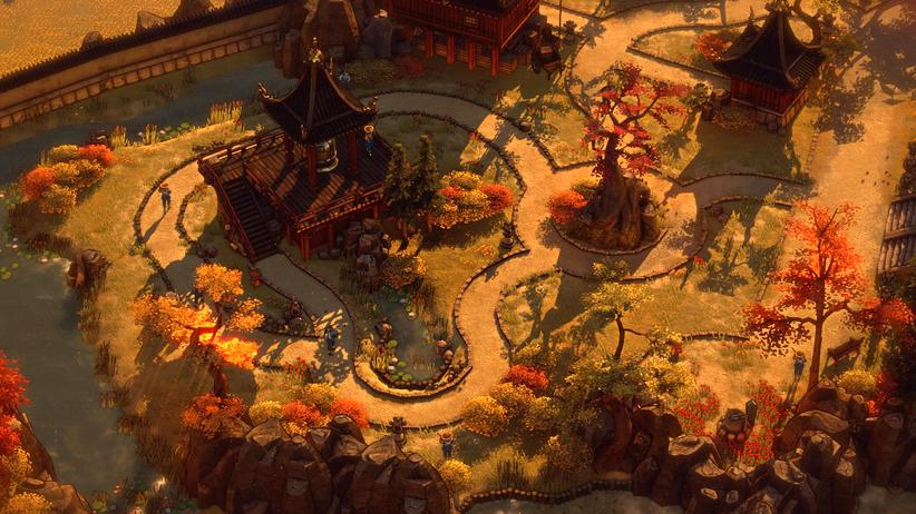 "Screenshot aus ""Shadow Tactics: Blades of the Shogun"""