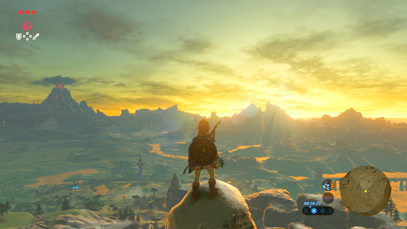 "Nintendo Switch: Gewichtiges Argument für Nintendo Switch: ""The Legend of Zelda: Breath of the Wild"""