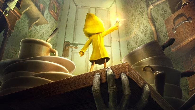 """In """"Little Nightmares"""" muss die junge Protagonistin so manche Gefahren meistern."""