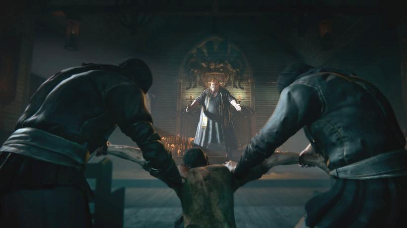 """Szene aus dem Horrorspiel """"Outlast 2"""""""