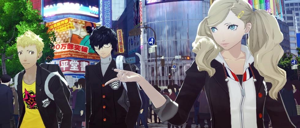 """Jung, cool, stylisch: Die Protagonisten in """"Persona 5"""""""