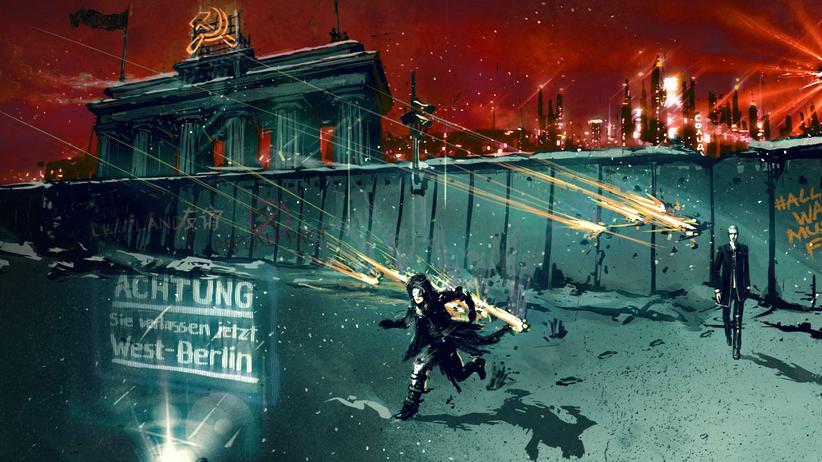 "In ""All Walls Must Fall"" steht die Berliner Mauer noch."
