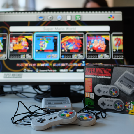 Mini-SNES Nintendo Retrokonsole