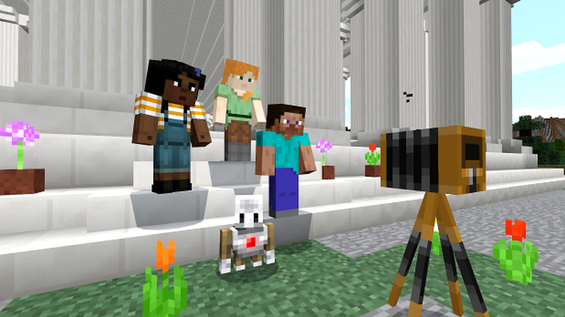 """Minecraft Education Edition"": Wenn Schüler richtig ranklotzen"