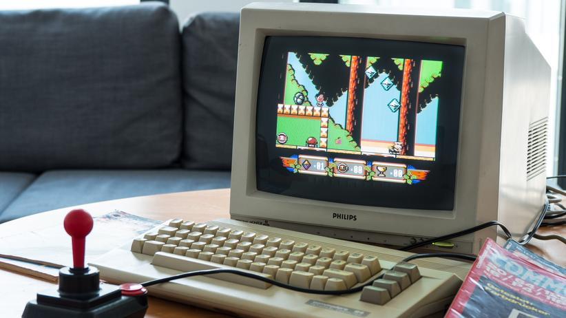"""Sam's Journey"": ""Sam's Journey"" auf unserem C64C"