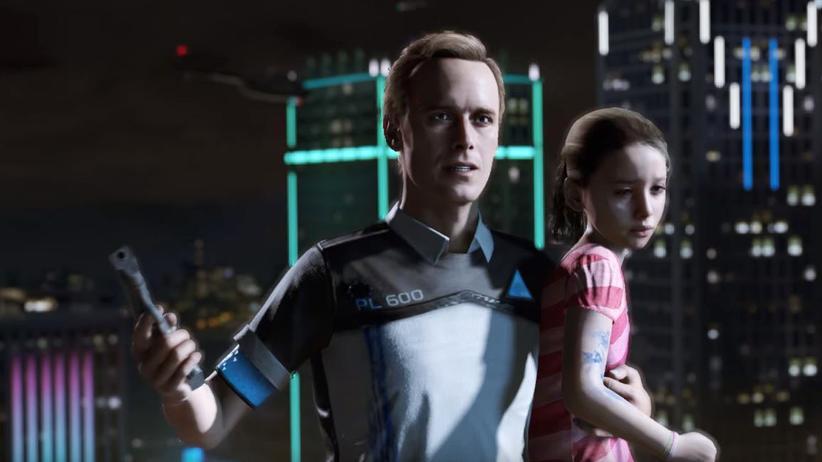 """""""Detroit: Become Human"""": In """"Detroit: Become Human"""" geraten Menschen und Androiden aneinander."""