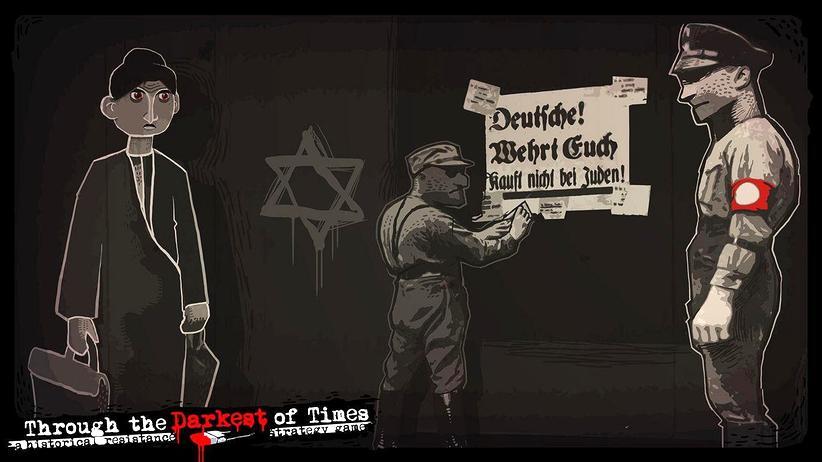 """Videospiele: Im Strategie-Spiel """"Through the Darkest of Times"""" kämpft der Spieler als Mitglied des Widerstands gegen Nazis."""