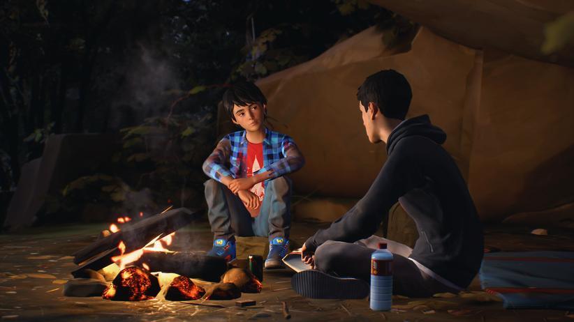"""Videospiel: Das Leben des neunjährigen Daniel und seines großen Bruders Sean wird in """"Life is Strange 2"""" durch eine Gewalttat jäh verändert. Auf einmal sind sie auf der Flucht."""