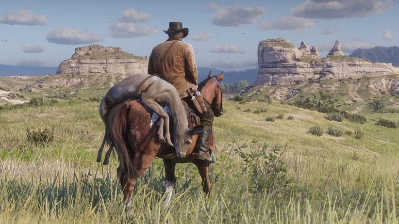 """""""Red Dead Redemption 2"""": Der Mensch hat diese Landschaft gemacht"""