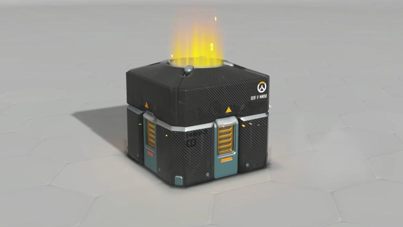 """In-Game-Käufe: So sehen die Lootboxen im Online-Spiel """"Overwatch"""" aus."""