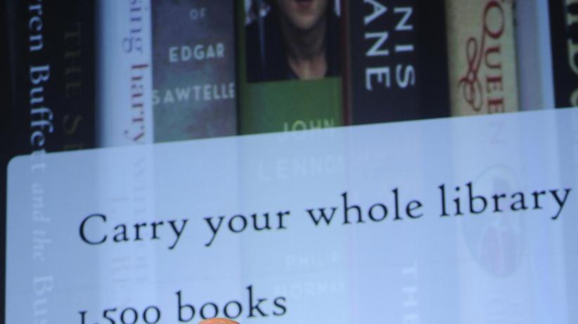 Lesegerät: Kindle kommt