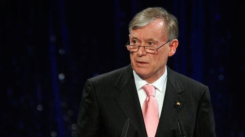 Netzsperren: Köhler verweigert seine Unterschrift