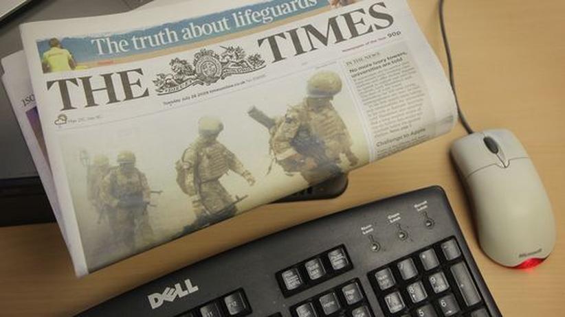 """Die """"Times"""" kostet ab dem Frühjahr auch im Netz Geld"""