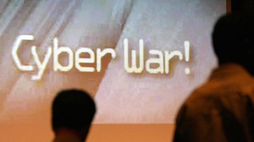 Das Bild entstand anlässlich einer Internet-Sicherheitskoferenz. Doch es beschreibt, worum es geht: Das Internet ist zum Schlachtfeld für Wirtschaftskriege geworden