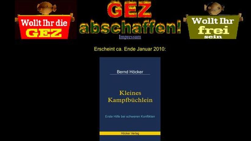 Abmahnung: GEZ-kritisches Blog zur Löschung von Inhalten gezwungen