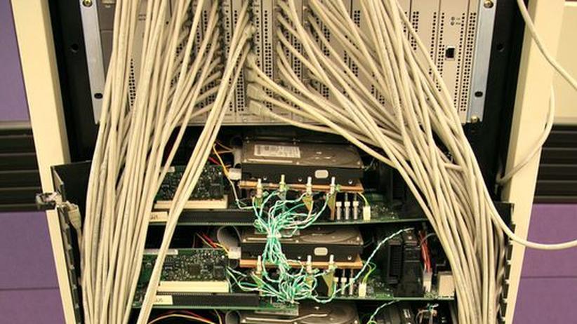 Der erste Server von Google steht heute in einem Museum. Im Einsatz war er ungefähr 1999. Heute ist Google einer der vehementesten Streit für Netzneutralität