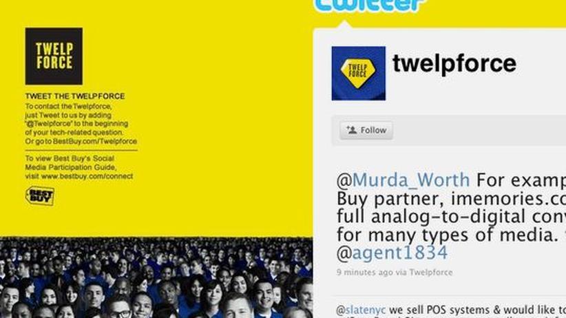 Die Twitter-Helpforce von Best Buy