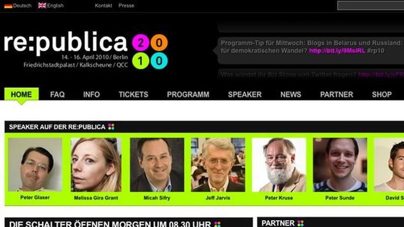 re:publica 2010: Im Jetzt, Hier und Nirgendwo