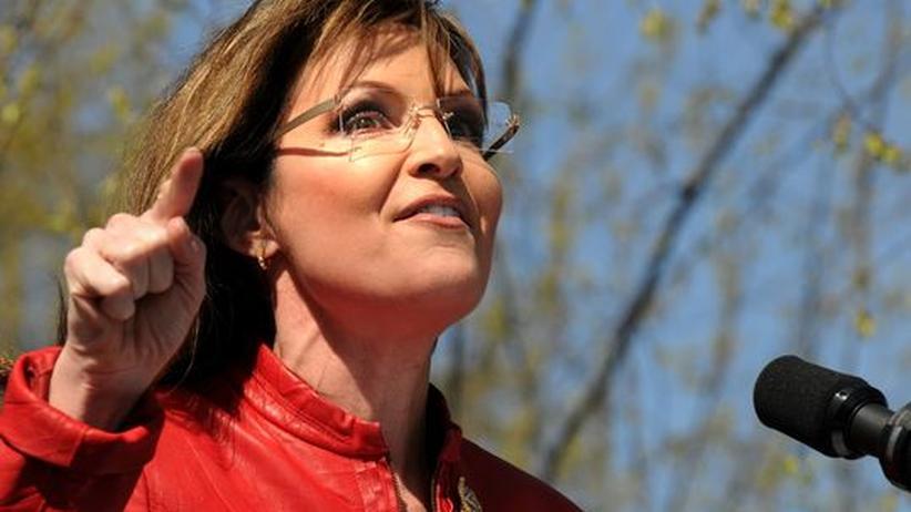 Yahoo-Gate: Die ehemalige Vizepräsidentschaftskandidatin Sarah Palin verglich ihren Fall auf Facebook mit der Watergate-Affäre
