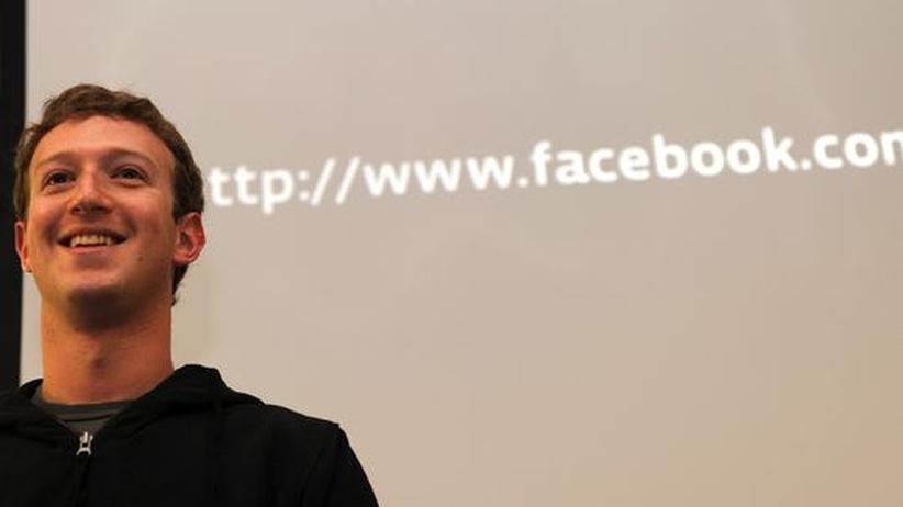Facebook-Gründer Mark Zuckerberg hat 600.000 Fans in seinem Profil