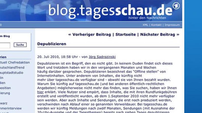 """Depublizieren: """"Depub"""" will alle Öffentlich-Rechtlichen archivieren"""