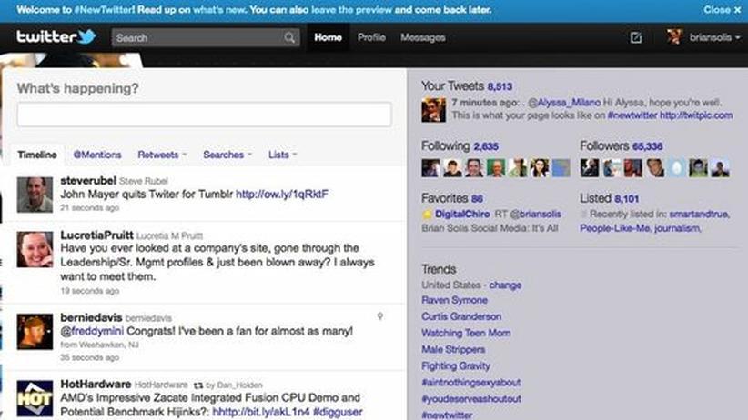 Social Media: Twitter baut um