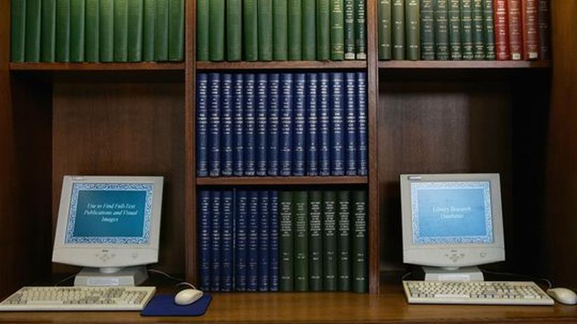 Alt und neu - Computer in der New York Public Library