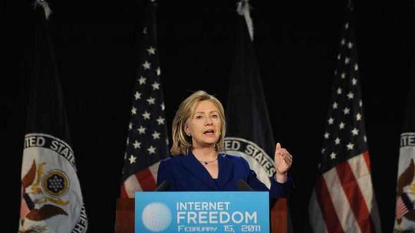 Wikileaks: Hillary Clinton lobt ein bisschen die Freiheit des Netzes