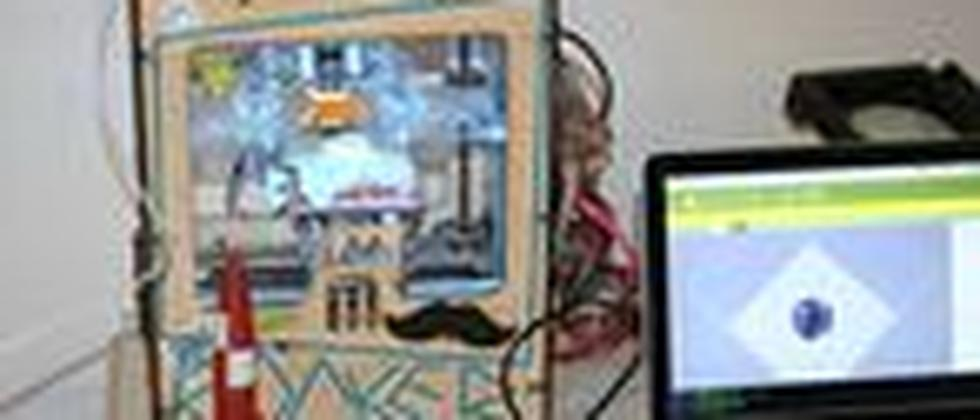 Der Makerbot im Betahaus in Berlin-Kreuzberg