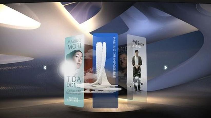 Adobe-Museum: Netzkunst in digitaler Architektur