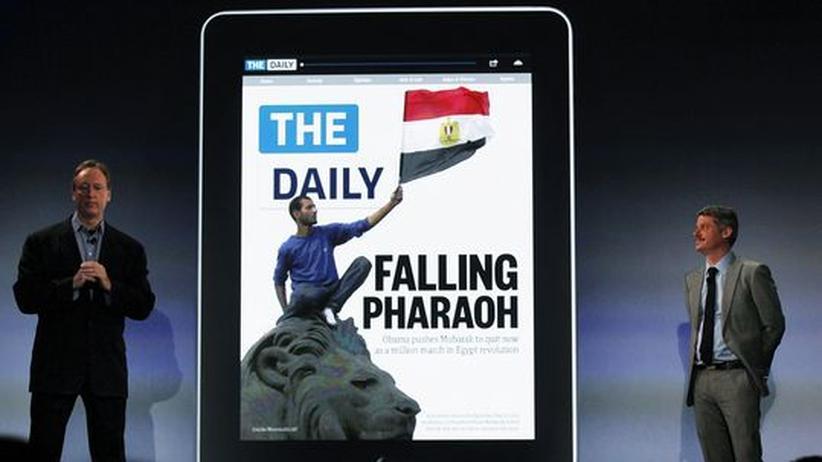 The Daily - die erste Zeitung, die letztlich nach den Vorgaben eines Hardwareherstellers entwickelt wurde