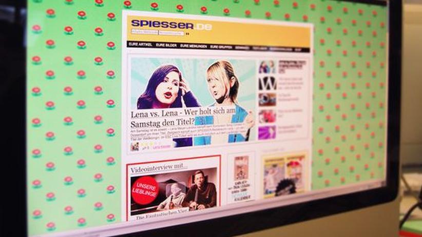 """Jugendmagazin: Die Website des Magazins """"Spiesser"""""""