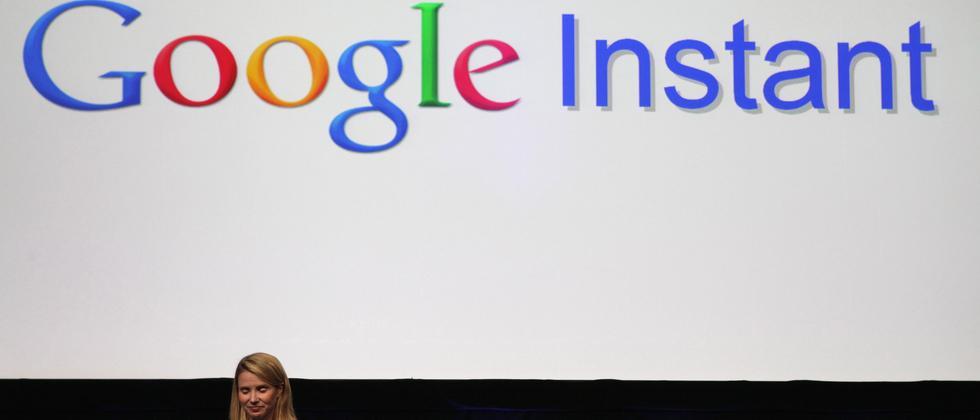 """Vorstellung der neuen Suchtechnologie """"Instant"""" von Google"""