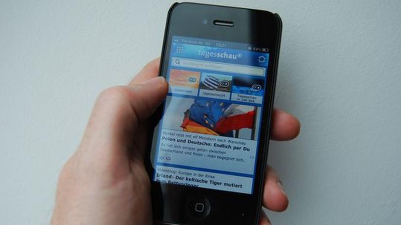 Medien-Konkurrenz: Zeitungen klagen gegen Tagesschau-App