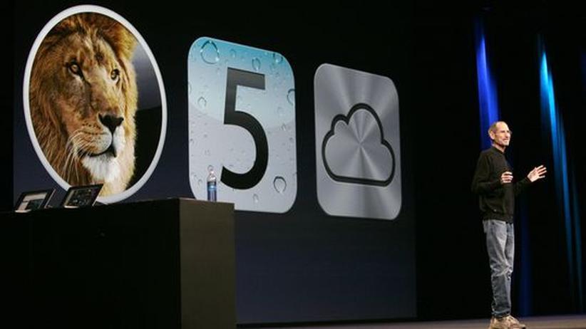 Betriebssystem Lion: Steve Jobs hat Apples neues Betriebssystem auf der Entwicklerkonferenz Anfang Juni in Kalifornien vorgestellt, jetzt ist es auf dem Markt.